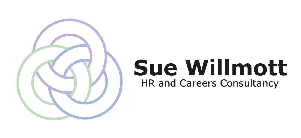 Our company logo, representing our three main areas: HR; Careers and Training Packages. HR Support in Cornwall