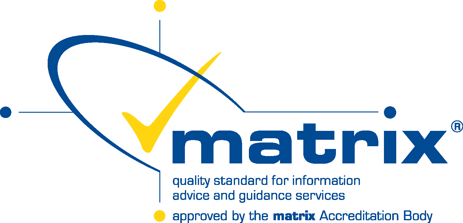 Matrix Accredited - quality standard for information advice and guidance services